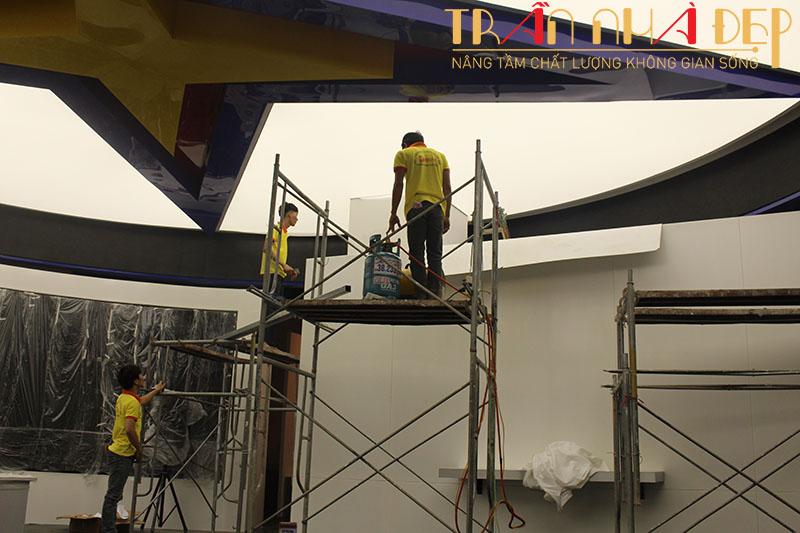 dịch vụ sửa chữa trần thạch cao